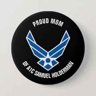 Pin's Maman fière d'un aviateur de l'Armée de l'Air
