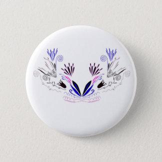 Pin's Mandala de conception sur le blanc