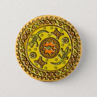 Pin's Mandala de crocodile