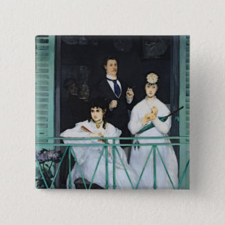 Pin's Manet | le balcon, 1868-9