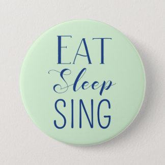 Pin's Mangez, dormez, chantez le bouton