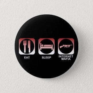 Pin's Mangez la Mafia de sommeil