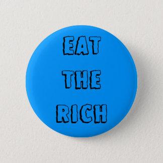 "Pin's ""Mangez"" le bouton riche"