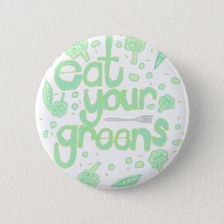 Pin's mangez vos verts