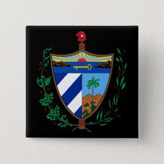Pin's manteau du Cuba des bras