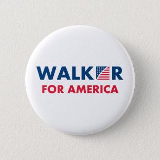 Pin's Marcheur de Scott pour l'Amérique