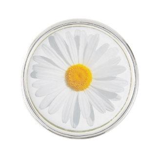 Pin's marguerite blanche