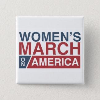 Pin's Mars des femmes sur l'Amérique