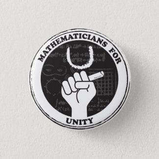 Pin's Mathématiciens pour le bouton d'unité