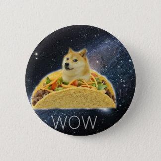Pin's meme de taco de l'espace de doge
