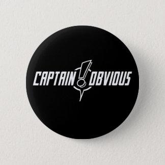 Pin's Merci, capitaine Obvious - bouton