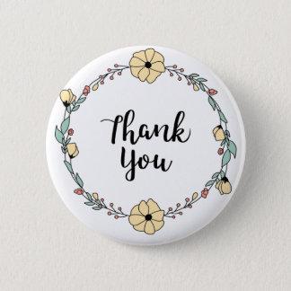 Pin's MERCI ! Carte de remerciements