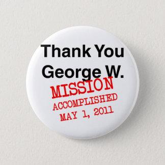 Pin's Merci George W