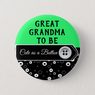 Pin's Mignon en tant que grand-maman de bouton à être