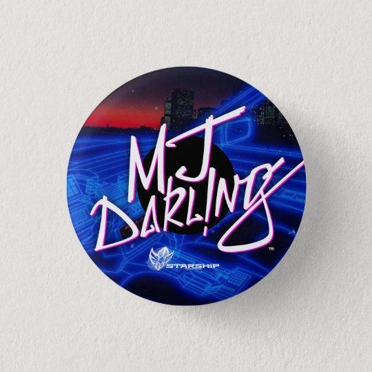 Pin's MJ Darl ! bouton de NG (Nightrider)