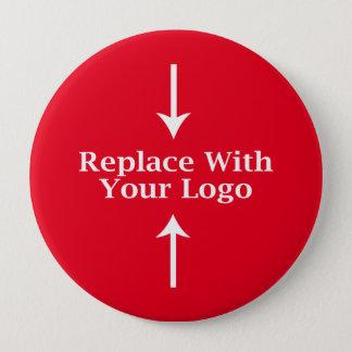 Pin's Modèle de bouton de logo d'affaires