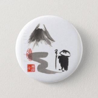 Pin's Moine de zen sur le voyage