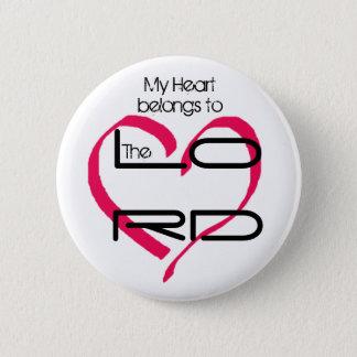 Pin's Mon bouton de coeur