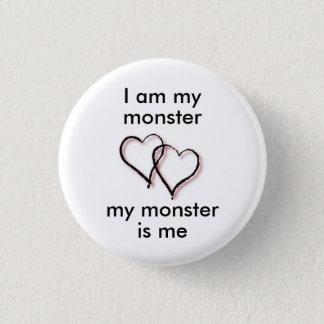 Pin's Mon bouton de monstre