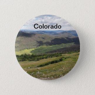 Pin's montagnes rocheuses dans le Colorado