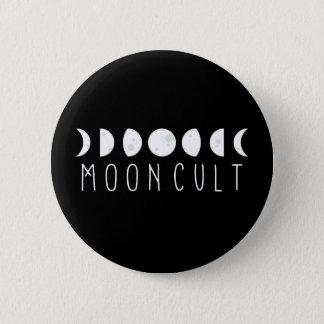 Pin's MoonCult bouton de 2 pouces