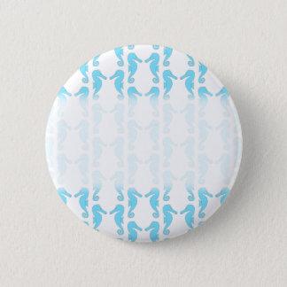 Pin's Motif bleu-clair d'hippocampe