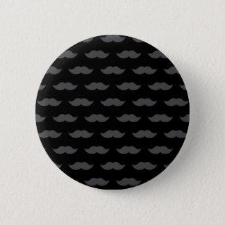 Pin's Motif noir de moustache de moustache de guidon
