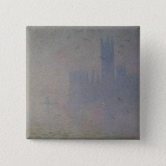 Pin's Mouettes de Claude Monet   au-dessus des Chambres