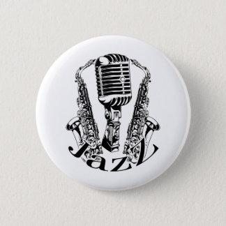 Pin's Musique de microphone de saxo de saxophone de ~ de