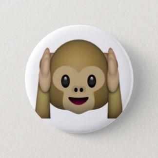 Pin's N'entendez aucun singe mauvais - Emoji