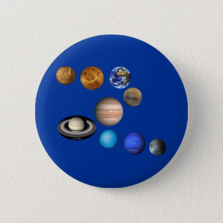 Pin's Neuf planètes dans le système solaire