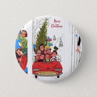 Pin's Noël de cru de rockabilly