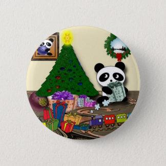 Pin's Noël de panda