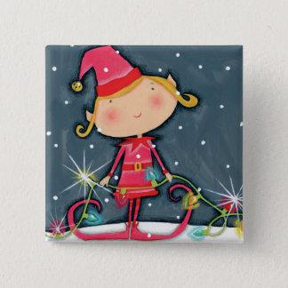 Pin's Noël lumineux Elf