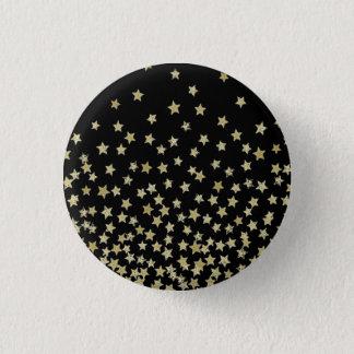 Pin's noire de nuit étoilée