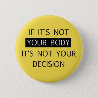 Pin's Non votre décision