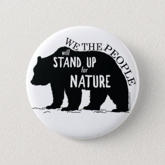 Pin's Nous que les personnes représentent la nature -