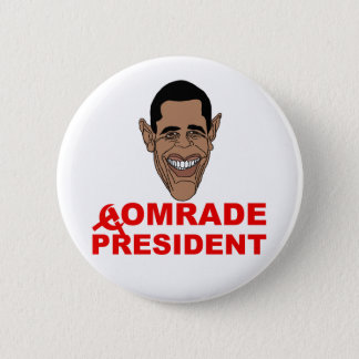 Pin's Obama : Camarade le président