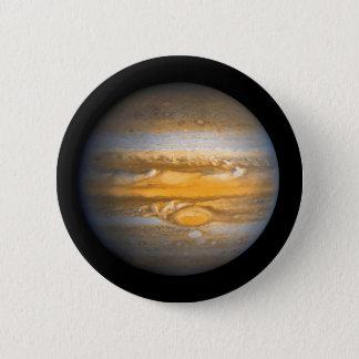 Pin's Oeil de planète de Jupiter d'espace