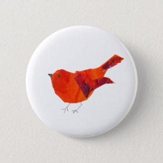 Pin's Oiseau rouge mignon