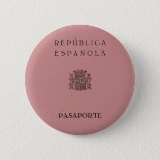 Pin's Old Spanish Republic passport (solid pinkish)