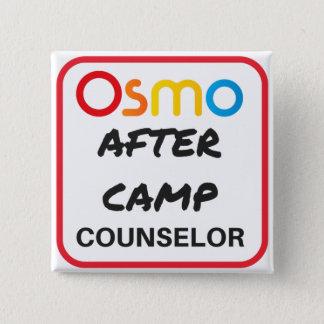 Pin's OSMO après bouton de conseiller de camp