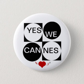 Pin's Oui nous Cannes
