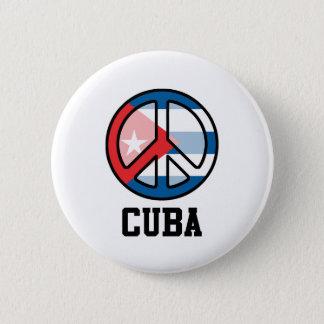 Pin's Paix au Cuba