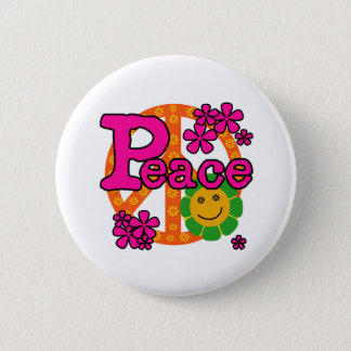 Pin's paix du style 60s