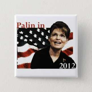 Pin's Palin pour le président en 2012
