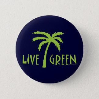 Pin's Palmier vert vivant ambiant
