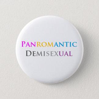 Pin's Panromantic Demisexual