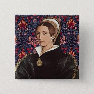 Pin's Parr d'équipe - portrait de la Reine Katherine