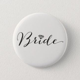 Pin's Partie nuptiale de mariage chic de diamant de